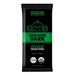 Eating Evolved Signature Dark 72% Cacao Primal Chocolate, 71g