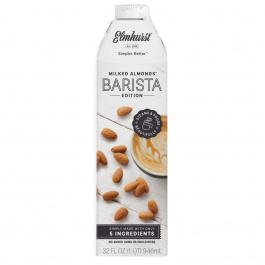 Elmhurst Almond Milk Barista Steamer / Creamer, 946mL