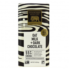 Endangered Species Chocolate Oat Milk Dark Chocolate, 85g