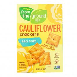 From The Ground UP Sea Salt Cauliflower Crackers, 113g