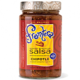 Frontera Chipotle Salsa With Roasted Tomatillo and Garlic, 454g