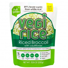 Fullgreen Riced Broccoli with Cauliflower, 200g