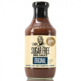 G Hughes Sugar Free BBQ Sauce Original, 510g