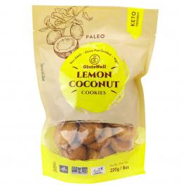 GluteNull Grain-Free Paleo Cookies Lemon Coconut, 220g