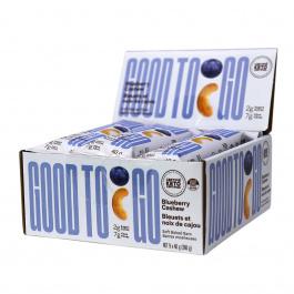 Good To Go Keto Snack Bars Blueberry Cashew, 9 Bar Pack