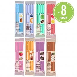 Good To Go Keto Snack Bars Variety Pack, 8 Bars