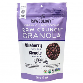 Rawcology Blueberry with Acai Raw Crunch Granola, 200g