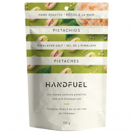 Handfuel Dry Roasted Pistachios with Pink Himalayan Salt, 150g