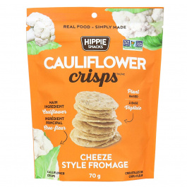 Hippie Snacks Cauliflower Crisps Cheeze, 70g