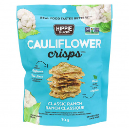 Hippie Snacks Cauliflower Crisps Classic Ranch, 70g