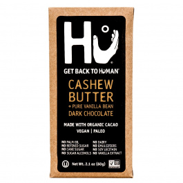 Hu Cashew Butter & Pure Vanilla Bean Chocolate Bar, 60g
