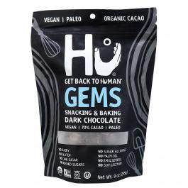 Hu Kitchen Gems, Snacking & Baking Dark Chocolate, 255g