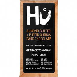 Hu Almond Butter & Puffed Quinoa Chocolate Bar, 60g