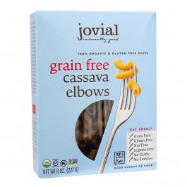 Jovial Organic Grain-Free Cassava Elbows, 227g