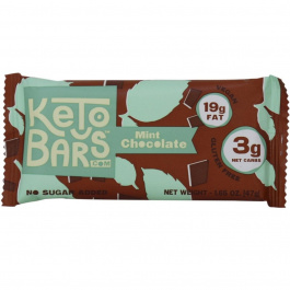 Keto Bars Dark Chocolate Mint, 1 bar