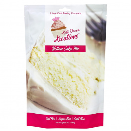 Keto Queen Kreations Sugar-Free Yellow Cake Mix, 281g