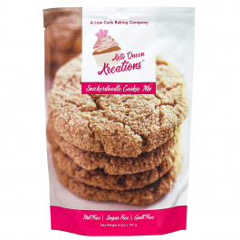 Keto Queen Kreations Sugar-Free Snickerdoodle Cookie Mix, 157g