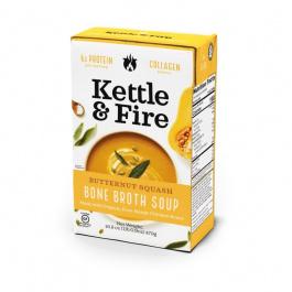 Kettle & Fire Butternut Squash Bone Broth Soup, 479g