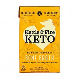 Kettle & Fire Butter Chicken Bone Broth Soup, 479g