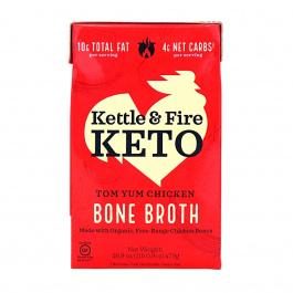 Kettle & Fire Tom Yum Chicken Bone Broth Soup, 479g