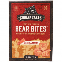 Kodiak Cakes Bear Bites Cinnamon Graham Crackers, 255g
