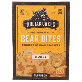 Kodiak Cakes Bear Bites Honey Graham Crackers, 255g