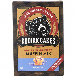 Kodiak Cakes Blueberry Protein-Packed Muffin Mix, 396g