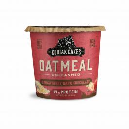 Kodiak Cakes Oatmeal Unleashed Cup Strawberry Dark Chocolate, 60g