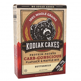 Kodiak Cakes Carb-Conscious Buttermilk Flapjack & Waffle Mix, 340g