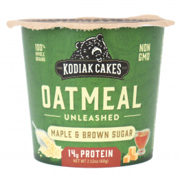 Kodiak Cakes Oatmeal Unleashed Cup Maple & Brown Sugar, 60g