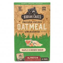Kodiak Cakes Protein-Packed Oatmeal Cinnamon, 6 Packets