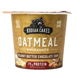 Kodiak Cakes Oatmeal Unleashed Cup Peanut Butter Chocolate Chip, 60g