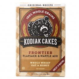 Kodiak Cakes Frontier Flapjack & Waffle Mix Whole Wheat Oat & Honey, 680g