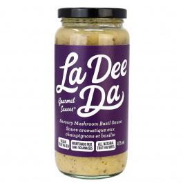 La Dee Da Savoury Mushroom Basil Sauce Nightshade Free, 475ml