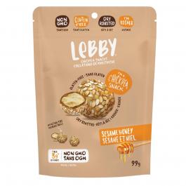 Lebby Gluten-Free Chickpea Bites Sesame Honey, 99g