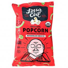 Lesser Evil Organic Popcorn Watermelon Hibiscus, 142g