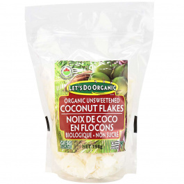 Let's Do...Organic Unsweetened Coconut Flakes, 198g