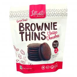 Lillabee Grain-Free Brownie Thins Classic Chocolate, 113g