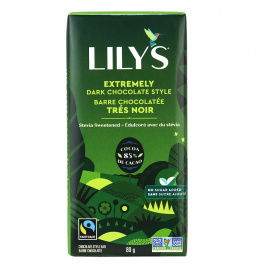 Lily's Extremely Dark Chocolate Style, 80g