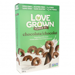 Love Grown Power O's Toasted Bean & Rice Cereal Chocolate, 283g