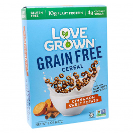 Love Grown Grain-Free Cereal Cinnamon Sweet Potato, 227g