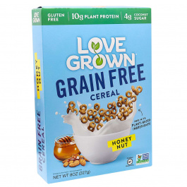 Love Grown Grain-Free Cereal Honey Nut, 227g