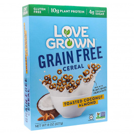 Love Grown Grain-Free Cereal Toasted Coconut Almond, 227g