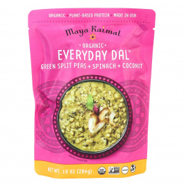 Maya Kaimal Everyday Dal (Green Split Peas, Spinach, Coconut), 284g