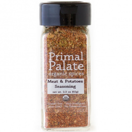 Primal Palate Organic Spices Meat & Potatoes Seasoning, 65g