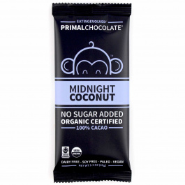 Eating Evolved 100% Cacao Midnight Coconut Chocolate, 71g