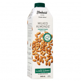 Elmhurst Unsweetened Almond Milk, 946ml