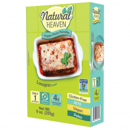 Natural Heaven Veggie Lasagna Made with Palm Hearts, 255g