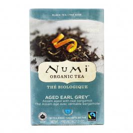 Numi Organic Aged Earl Grey Black Tea, 18 Bags