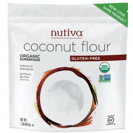 Nutiva Organic Coconut Flour, 454g